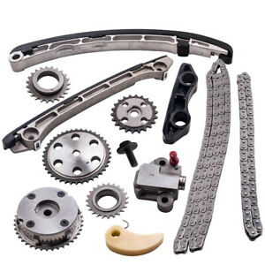 Timing-Chain-Kit-For-Mazda-Speed6-2-3L-Turbo-2006-2007-Camshaft-VVT-Acuator-Gear