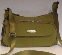 Baggallini Everyday Bagg Green Crossbody Zipper Purse Shoulder Cargo