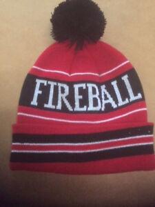 Image Is Loading Fireball Whisky Toboggan Red White Amp Black New