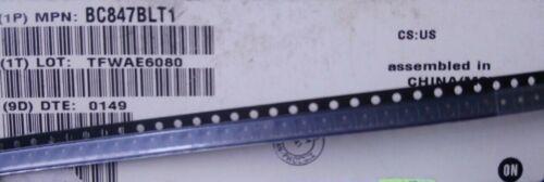 On Semi BC847BLT1 45V 0.1A SOT23 NPN Transistor