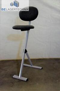 Stehhilfe-klappbar-Stehhocker-Stehsitz-Arbeitsstuhl-Sitz-Hocker-hoehenverstellbar