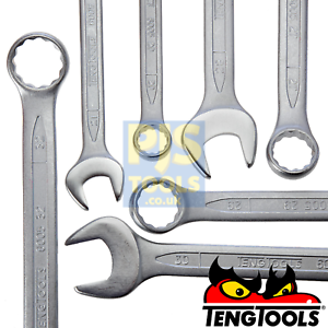 Teng tools metric combination spanners chrome vanadium all sizes 8mm to 36mm
