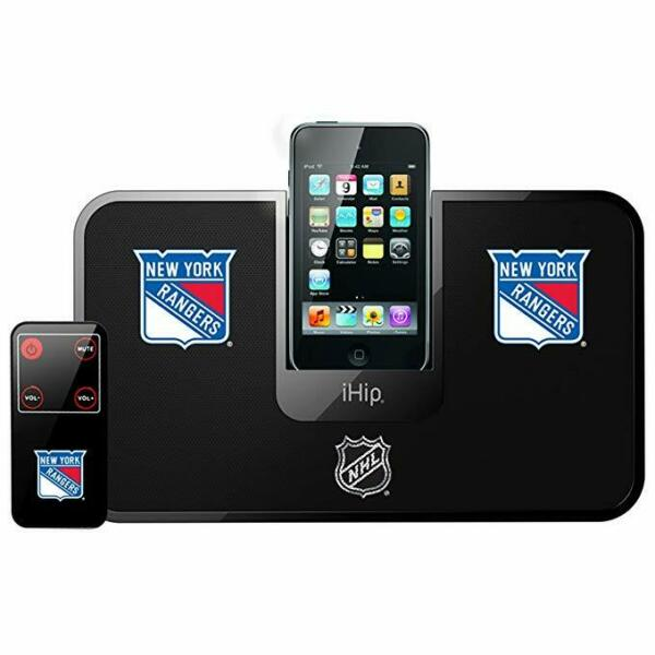 100% Waar Ihip New York Rangers Portable Idock Stereo System Laatste Mode