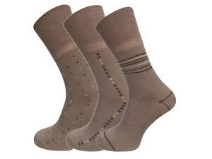 Men's Non Elastic Bamboo Socks Soft Touch (6 Pairs) UK 6-11 EU 39-45