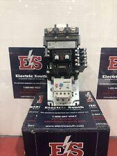 Allen Bradley Motor Starter Nema Size 2 509 Cod Xxx With E1 Plus With 120 Volt Coil