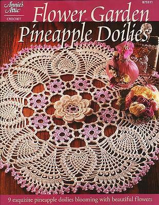 NEW - Flower Garden Pineapple Doilies by Annie's Attic