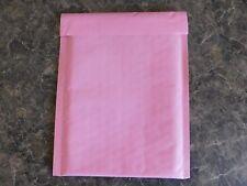 100 Pastel Pink 4 x 8 Kraft Bubble Mailer #000 Self Seal  Envelope Padded Mailer