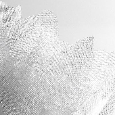 LUXURY CIRCLE PEAKED EDGE WEDDING FAVOUR TULLE BOMBONIERE ORGANZA NETS
