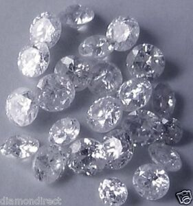 0-101-Cts-total-Great-lot-x10-loose-natural-River-D-round-diamonds-1-2-1-3-mm