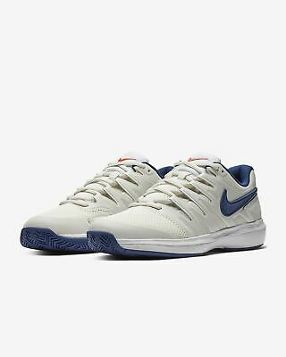 Homme Nike Air Zoom Prestige HC Baskets Tennis Running Bleu Blanc AA8020 004 | eBay