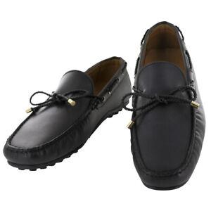 Fiori Di Lusso Noir Conduite Cuir Chaussures - (57)