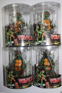 NECA-Tmnt-Teenage-Mutant-Ninja-Turtles-5-034-Figure-RED-Headband-Collectible-Set-4