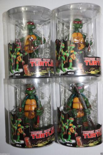 """NECA Tmnt Teenage Mutant Ninja Turtles 5/"""" Figure RED Headband Collectible Set 4"""