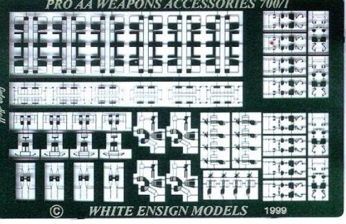 White Ensign Models 1//700 #PE7035 Bofors Fittings