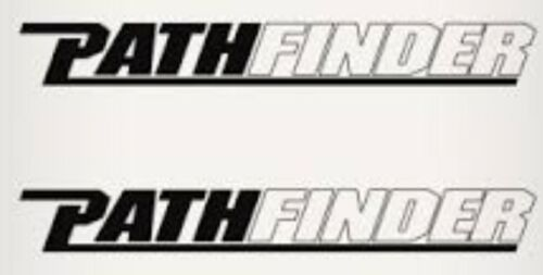 """PAIR OF /""""3X28/"""" PATHFINDER BOAT HULL DECALS YOUR COLOR CHOICE.04 MARINE GRADE"""