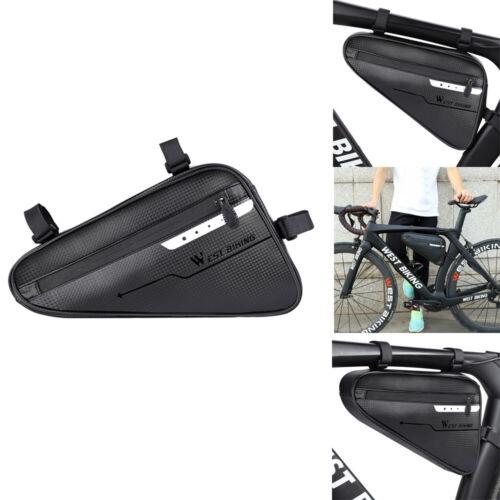 WEST BIKING Bicycle Triangle Bag 4L Capacity Waterproof MTB Bike Top Bag