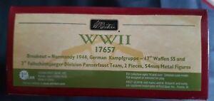 Grande-Bretagne 17657 Allemand17ème Waffen Ss Panzerfaust Team * Mib