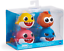 thumbnail 1 - Pinkfong Baby Shark Bath Squirt Toy 4 Pack NEW