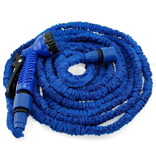 75//100//150//200FT For All Your Watering Needs 7 Water Modes Hose Pipe W// Sprayer