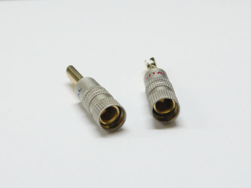 5 Pairs BFA Amplifier Receiver Audio Speaker Cable wire Connector Banana Plug