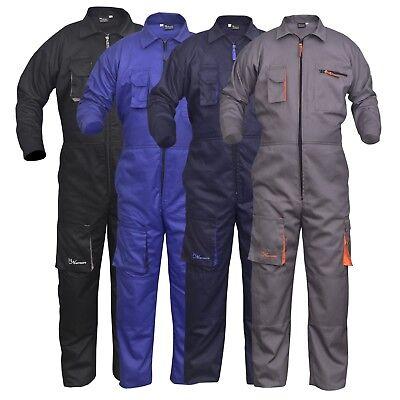 Work Wear Men/'s Overalls Boiler Suit Coveralls Mechanics Boilersuit Protective