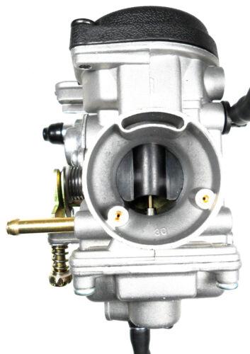 Scooters Manual Choke Intake ID=30 OD=37 TK PD Carburetor 250cc ATVs