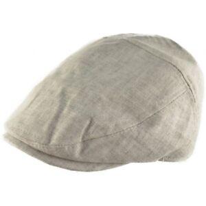 100% Cotton 5 Panel Flat Cap Ultra Lightweight 60 Gms Ivy Cap Light Grey