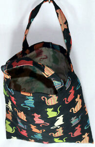Katzen-Einkaufsbeutel-Signare-Cheey-Einkaufstasche-Shopper-Gobelin-Tapestry