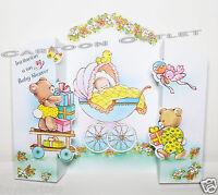 10 Pc Baby Shower Invitations Spanish Invitaciones Un Baby Shower Printed Italy