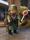 PLAYMOBIL CUSTOM SUB.POLICIA MILITAR WEHRMACHT(FRONT ORIENTAL-1941) REF-0494 BIS