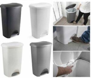 Addis Plastique 50 L Pedale Poubelle Poubelle Papier Poubelle De