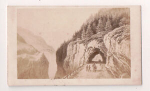 Vintage-CDV-Hikers-in-The-Savoy-Mountains-France-Italy-Jules-Springer-Photo