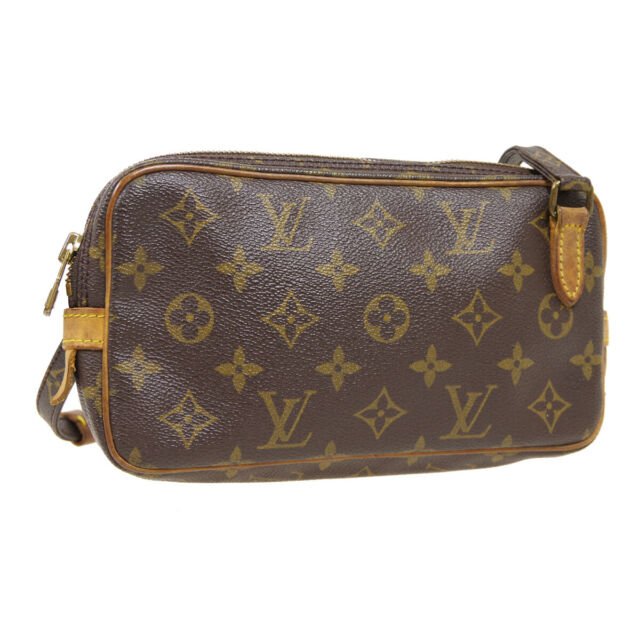 LOUIS VUITTON MARLY BANDOULIERE SHOULDER BAG TH0920 PURSE MONOGRAM M51828 31233