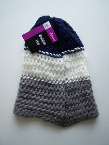 Adult Crochet Knitted Hat One Size Ebay