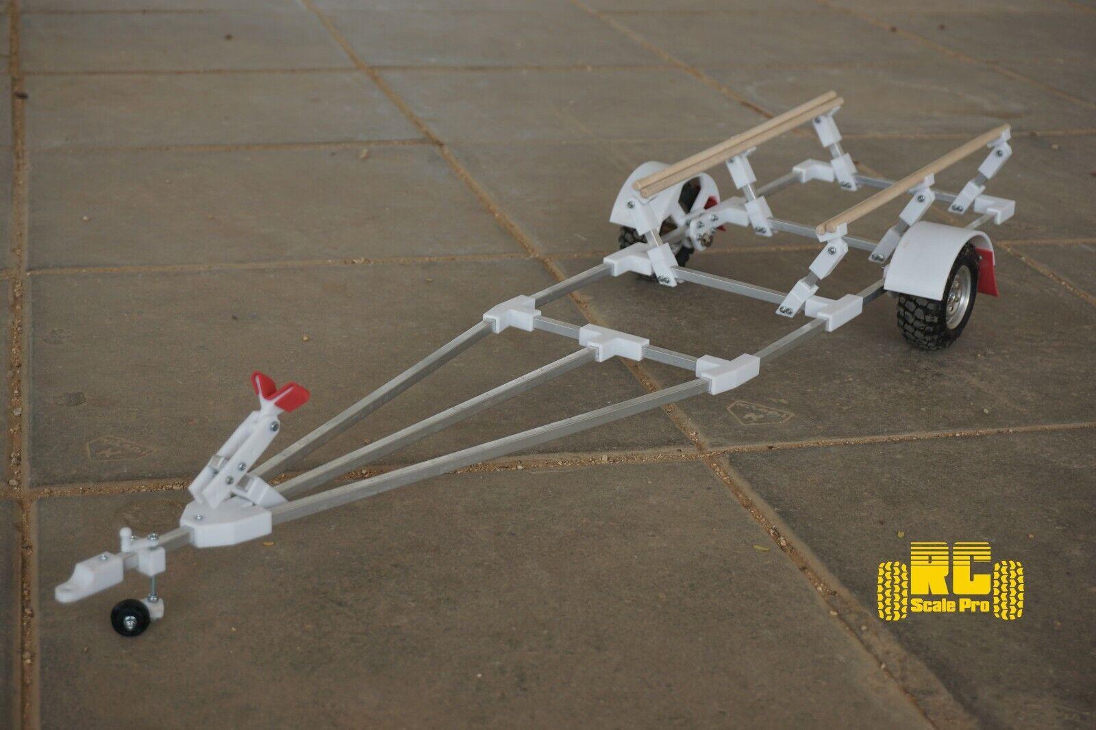 RC Barco Remolque Kit Para Traxxas spartan rc crawler remolque y tamaño similar