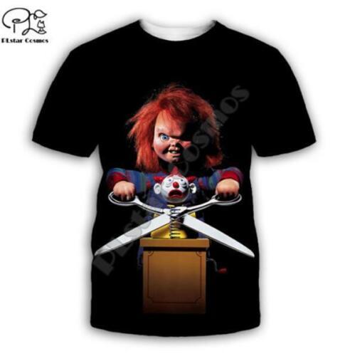 Horror Movie Bride of Chucky 3D Print Mens Womens Coats pullover Hoodies+pants