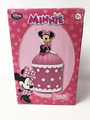 Disney Minnie Mouse Jewelry Box | eBay