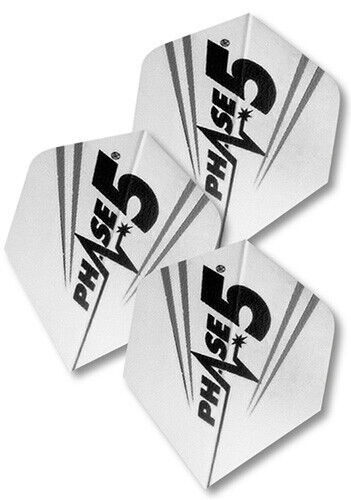 Flight-Set Polyester extra strong Standard Phase 5 weiß