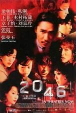 2046 Movie POSTER 27x40 Tony Leung Chiu Wai Li Gong Takuya Kimura Faye Wong