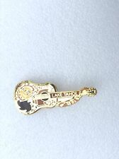 Lake Tahoe gold dead Rocker Buddy Holly styled acoustic Guitar Collectors HRC 20
