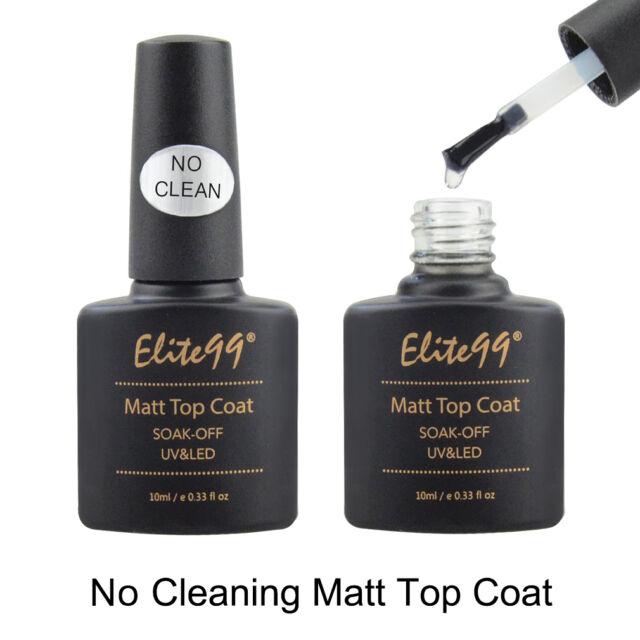 Elite99 No Wipe / Wiping Top Coat Sealer Soak Off UV Gel Nail Polish Nail Art