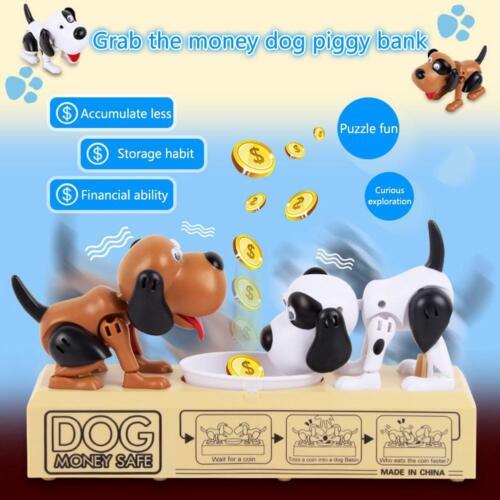 Hungry Eating Dog Banco Canino Money Box Money Bank Stole Coin Piggy Bank