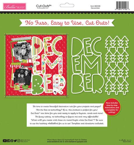 Cut Outs December bb2358 Bella Blvd Fa La La Collection