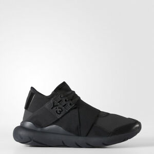 a95cdbffab17d New Women Adidas Y-3 Qasa Elle Lace Black Carbon Shoes BB4694 6 7 8 ...