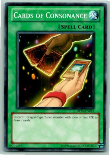 Mint Near Mint Condition YUGIOH Card Cards Of Consonance