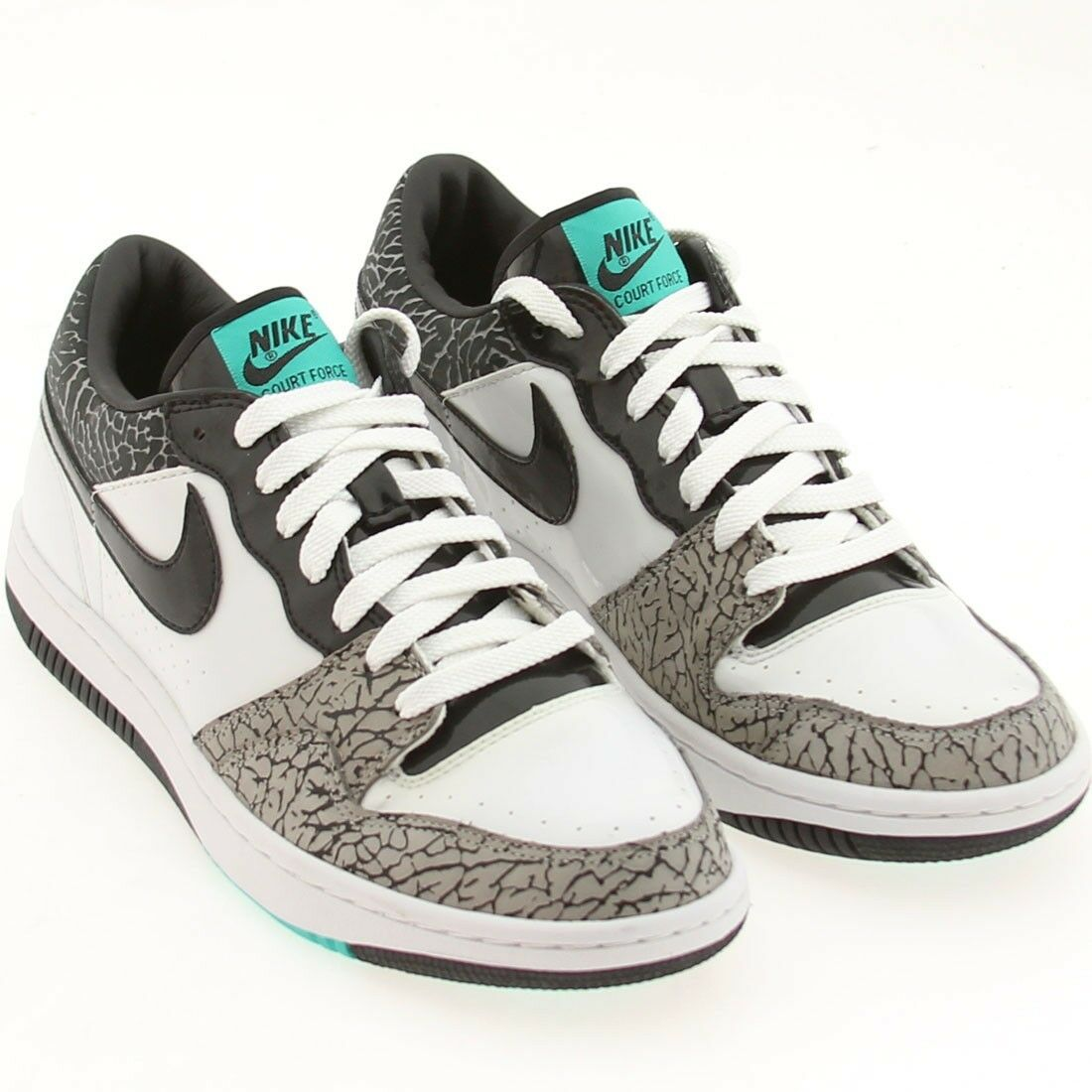 US sz 9.5 Nike Court Force Low Premium Atmos Edition