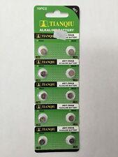 10 Pcs AG1 364 LR621 531 SR60 1.5V Alkaline Button Cell Watch Batteries