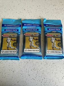 2019-20 Panini NBA Hoops Premium Stock Cello Pack (3X) Factory Sealed Fast Ship