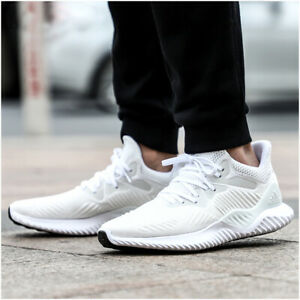 e4eb33d38 Image is loading adidas-Alphabounce-Beyond-White-AC8274-Running-Shoes-Men-