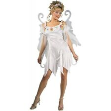 Winter Fairy Costume Adult Halloween Fancy Dress